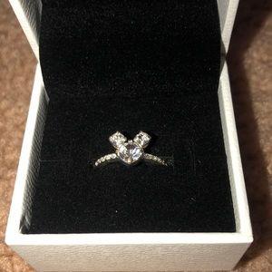 Disney Parks Swarovski crystal Mickey ring